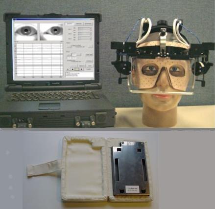 Casque, portable et disque dur utilisés pour l'expérience ETD (Crédit Energia)