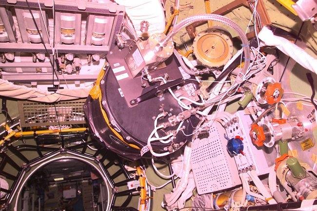PKE à bord de l'ISS
