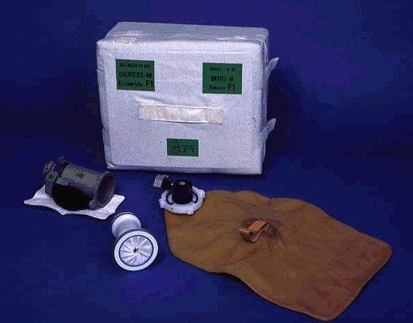 Appareil Diurèse utilisé pour l'expérience Minilab