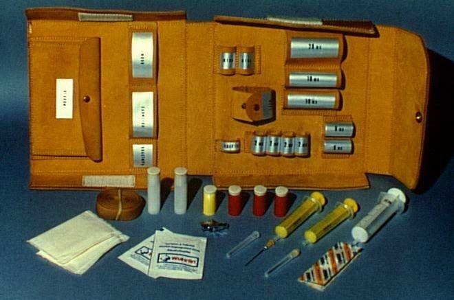 Kit de prélèvement sanguin utilisé pour Minilab